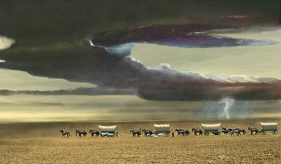 Wagon Train by Walter Colvin