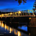 Washington's Crossing Bridge by busidophoto
