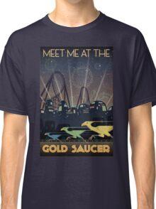 Final Fantasy VII Gold Saucer Travel Poster Classic T-Shirt