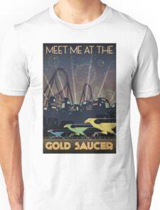 Final Fantasy VII Gold Saucer Travel Poster Unisex T-Shirt