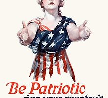 Be Patriotic sign your country's pledge to save the food -- U.S. Food Administration by warishellstore
