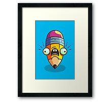 Stumpy Pencil Framed Print
