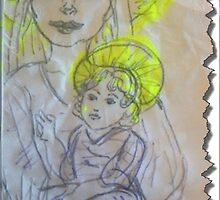 Madonna and Child 2 by writewaydesigns