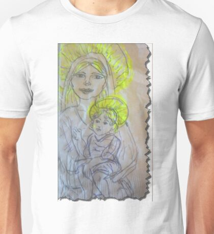 Madonna and Child 2 Unisex T-Shirt