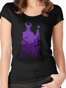 Midnight Maleficent Women's Fitted Scoop T-Shirt