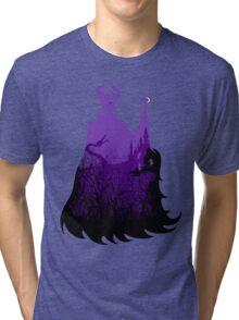 Midnight Maleficent Tri-blend T-Shirt