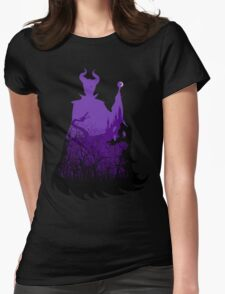 Midnight Maleficent Womens Fitted T-Shirt
