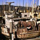 The Dora Mae - Fishing Boat by TWindDancer