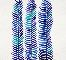 Indigo Seaweed by Cat Coquillette