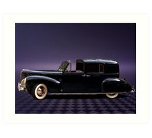 1941 Lincoln Continental City Limousine once owned by Henry Ford Art Print