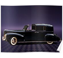 1941 Lincoln Continental City Limousine once owned by Henry Ford Poster