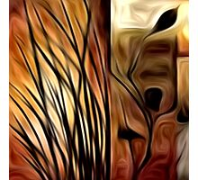 Abstract Nature Oil Painting #1 Photographic Print