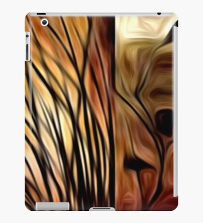 Abstract Nature Oil Painting #1 iPad Case/Skin