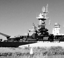 USS North Carolina Battleship by Cynthia48