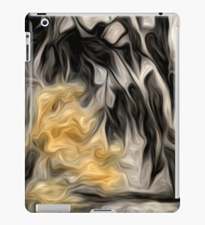Abstract Nature Oil Painting #2 iPad Case/Skin