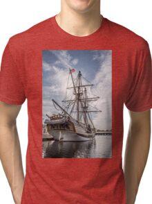 Lady Washington on the Columbia River Tri-blend T-Shirt