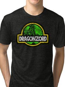 Jurassic Power Green Tri-blend T-Shirt