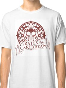 Pirates of the Caribbean Medallion 2 Classic T-Shirt