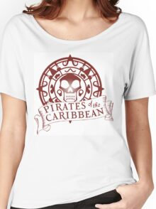 Pirates of the Caribbean Medallion 2 Women's Relaxed Fit T-Shirt