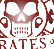 Pirates of the Caribbean Medallion 2 Sticker