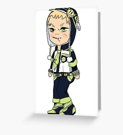 Chibi Noiz Greeting Card