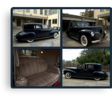 1941 Lincoln Continental City Limousine owned by Henry Ford Canvas Print