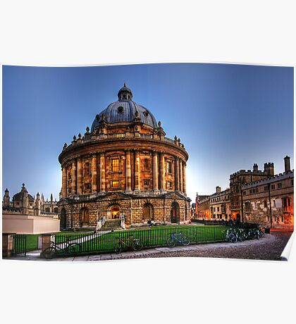 Radcliffe Camera, Oxford, England Poster