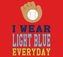 I Wear Light Blue Kids Clothes