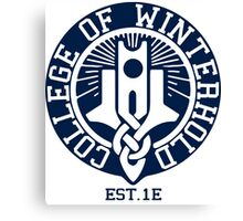 College of Winterhold Est. 1E Canvas Print