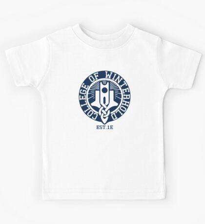 College of Winterhold Est. 1E Kids Tee