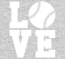 Love Baseball One Piece - Long Sleeve