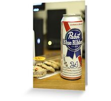 Beer & Cookies Greeting Card