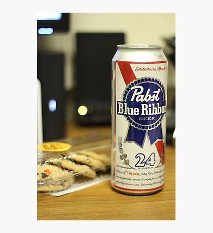 Beer & Cookies Photographic Print