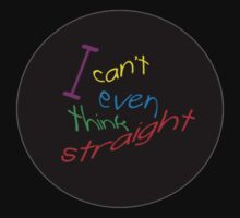 I can't even think straight - black by ozrose