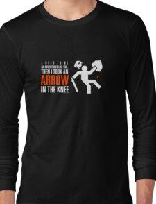 Arrow in the Knee Long Sleeve T-Shirt
