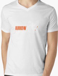 Arrow in the Knee Mens V-Neck T-Shirt