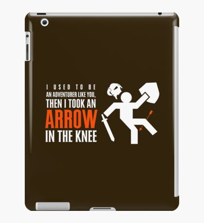 Arrow in the Knee iPad Case/Skin