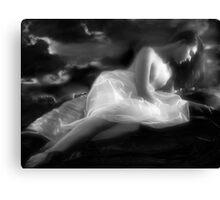 The Night Dream Awaits Canvas Print