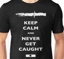 Keep Calm and Never Get Caught - DEXTER Unisex T-Shirt