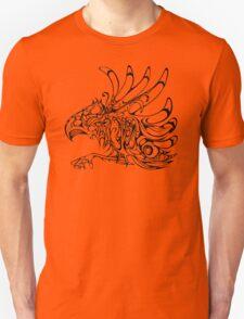 Thunderbird - aboriginal design - abstract eagle Unisex T-Shirt