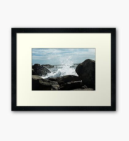 Rocks Framed Print