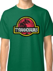 Jurassic Power Red Classic T-Shirt
