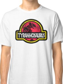 Jurassic Power Red Classic T-Shirt