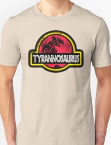 Jurassic Power Red T-Shirt