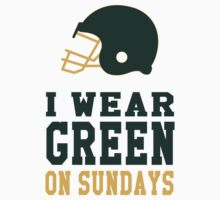 I Wear Green on Sundays One Piece - Short Sleeve