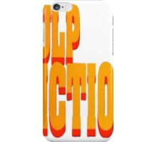 The Pulp Fiction Logo iPhone Case/Skin