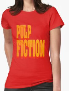 The Pulp Fiction Logo Womens Fitted T-Shirt