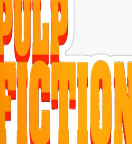 The Pulp Fiction Logo Sticker