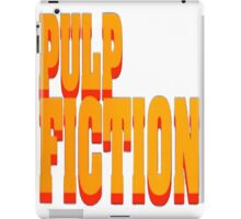 The Pulp Fiction Logo iPad Case/Skin