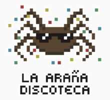 La Araña Discoteca - The Disco Spider STICKER ONLY by CraftyG